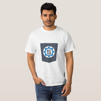 T-shirt de l'impact Html5
