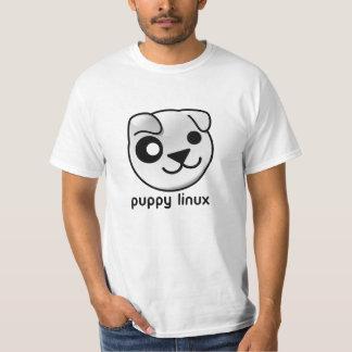 T-shirt de Linux de chiot