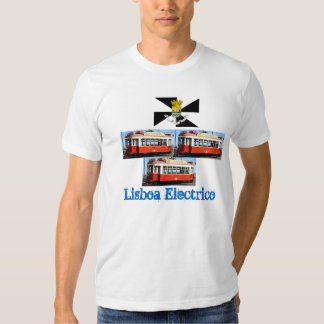 T-shirt de Lisboa* Portugal Carro Electrico