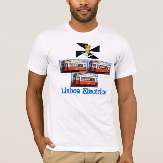 T-shirt de Lisboa* Portugal Carro Electrico