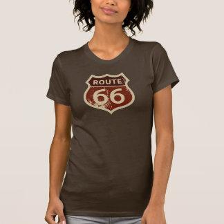 T-SHIRT de l'ITINÉRAIRE 66 des femmes