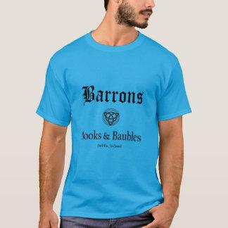 T-shirt de livres et de babioles de Barrons