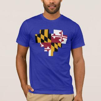 T-shirt de logo de coeur de Baltimore de filles
