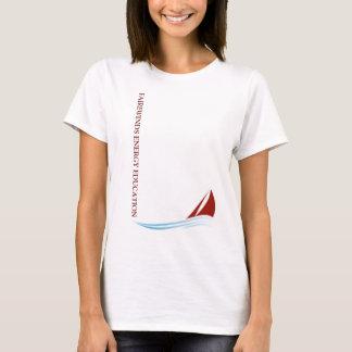 T-shirt de logo de Fairewinds des dames