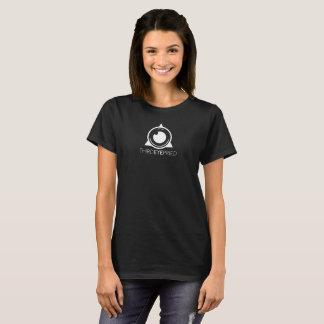 T-shirt de logo de fierté de troisième oeil (noir)
