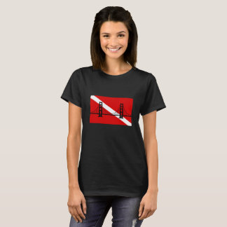T-shirt de logo de groupe de plongée à l'air du SF