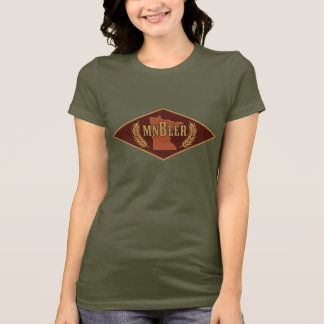 T-shirt de logo de MNBeer des femmes
