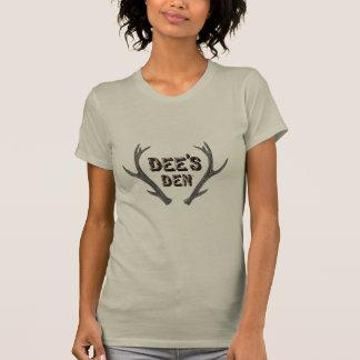 T-shirt de logo de repaire de Dees - femmes