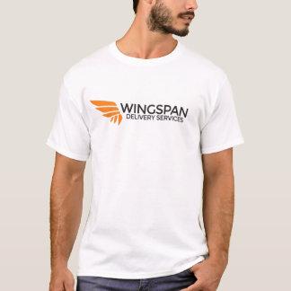 T-shirt de logo de services de distribution