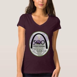 T-shirt de logo de St Louis de 500 scientifiques