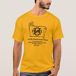 T-shirt de logo de studio de film silencieux d'OZ