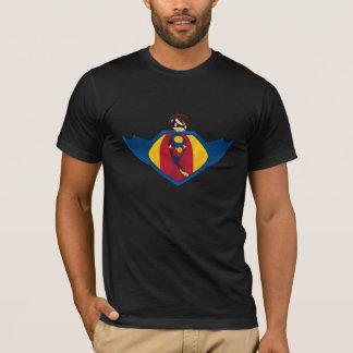 T-shirt de logo de super héros