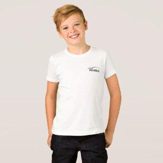 T-shirt de logo d'enfants de Mavs et de mokas