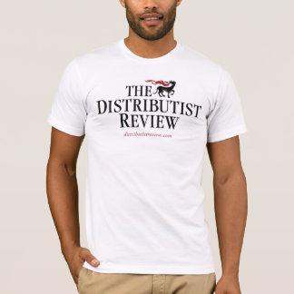 T-shirt de logo d'examen de Distributist