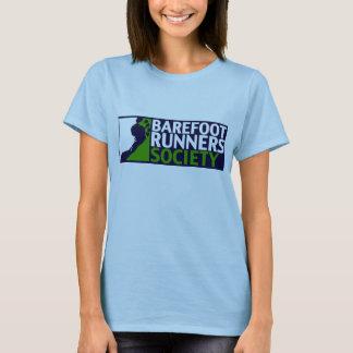 T-shirt de logo du Babydoll des femmes
