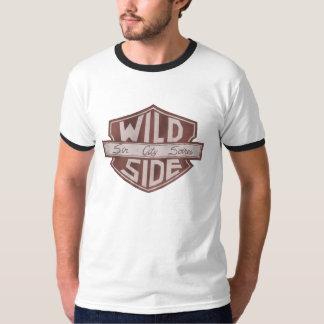 T-shirt de logo du bouclier des hommes de VWS