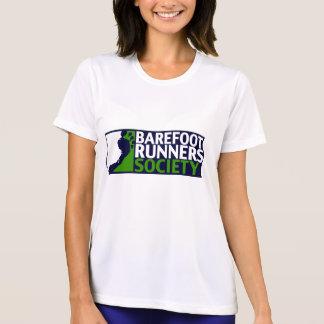 T-shirt de logo du microfiver des femmes