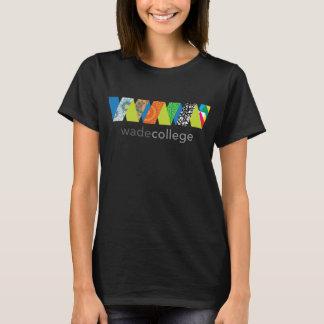 T-shirt de logo d'université de Wade