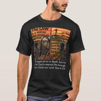 T-shirt de loi et de salut