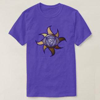 """T-shirt de Lotus d'analyse de yoga de """"troisième"""