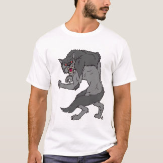 "T-shirt de ""loup-garou"" par Nathan Lee James"