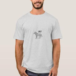 T-shirt de loup par GAAL