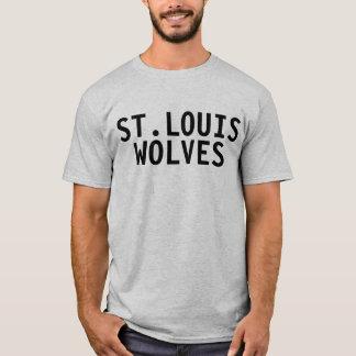 T-shirt de loups de St Louis