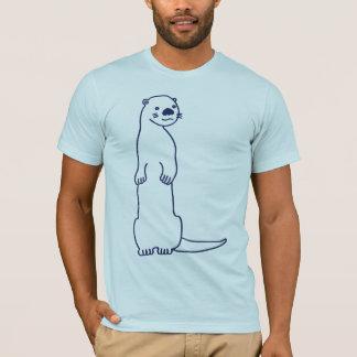 T-shirt de loutre