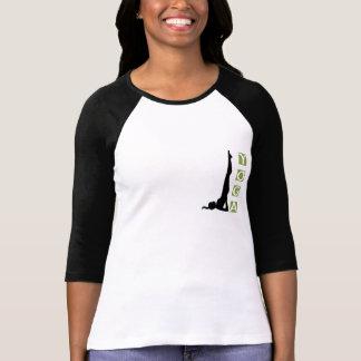 T-shirt de lumière de pose de yoga d'inversion