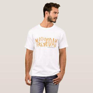 T-shirt de lundi de Meow