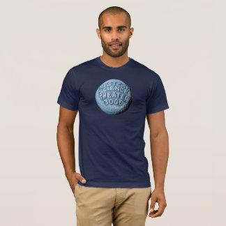 T-shirt de lune de MST3K (bleu marine)