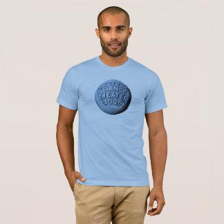 T-shirt de lune de MST3K (bleus layette)
