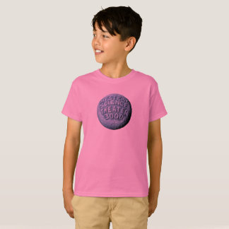 T-shirt de lune de MST3K (rose)