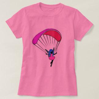 T-shirt de lutin de parapentisme