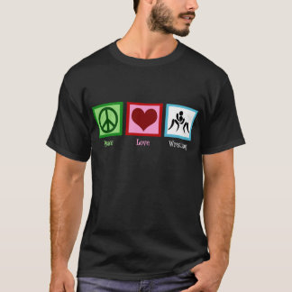T-shirt de lutte d'amour de paix