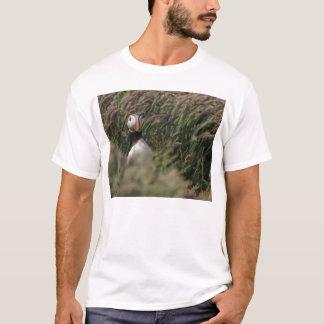 T-shirt de macareux d'herbe
