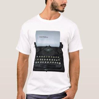 T-shirt de machine à écrire de Madisoy d'oscar