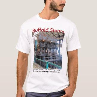 T-shirt de machine à vapeur de Buffalo