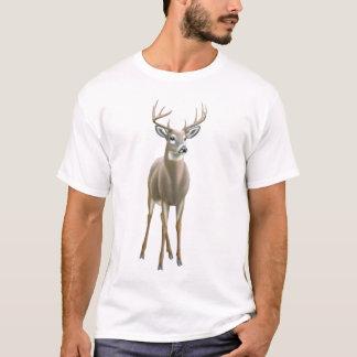 T-shirt de mâle coupé la queue par blanc