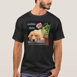 T-shirt de maman de golden retriever