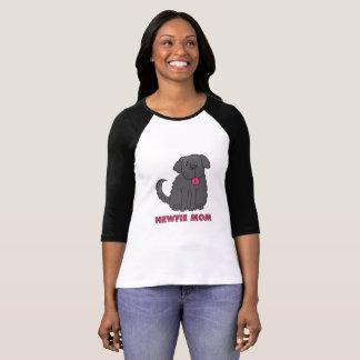 T-shirt de maman de Newfie