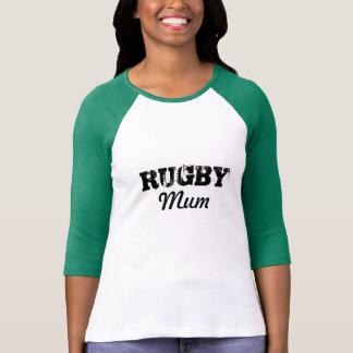 T-shirt de maman de rugby