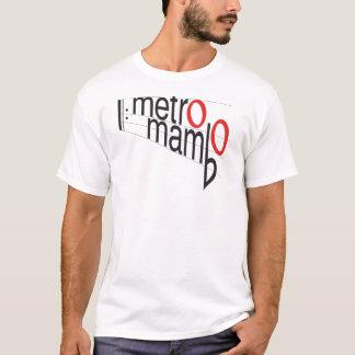 T-shirt de mambo de métro