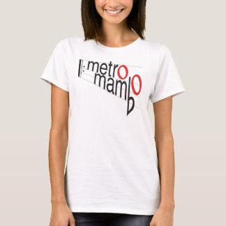 T-shirt de mambo de métro - femmes