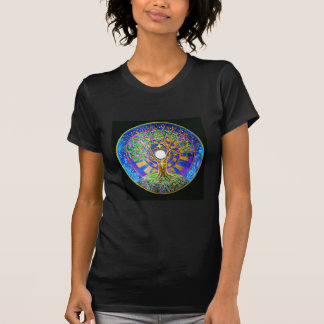T-shirt de mandala de pleine lune