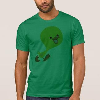 T-shirt de marche mignon de caneton de bande dessi