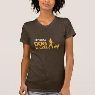 T-shirt de MARCHEUR de CHIEN de border collie