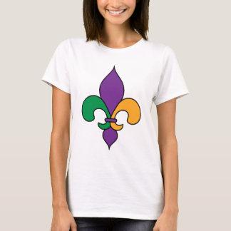 T-shirt de mardi gras de Fleur de Lis