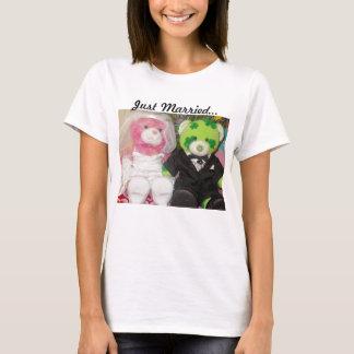 T-shirt de mariage