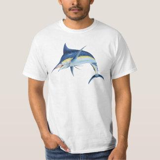 T-shirt de marlin bleu